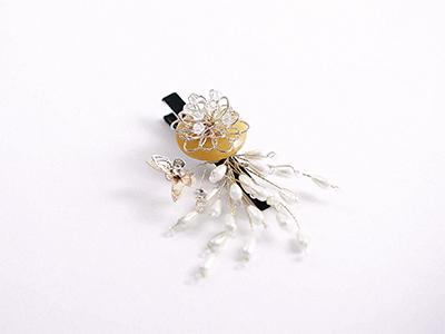 꽃내음진주집게핀_DIYSET
