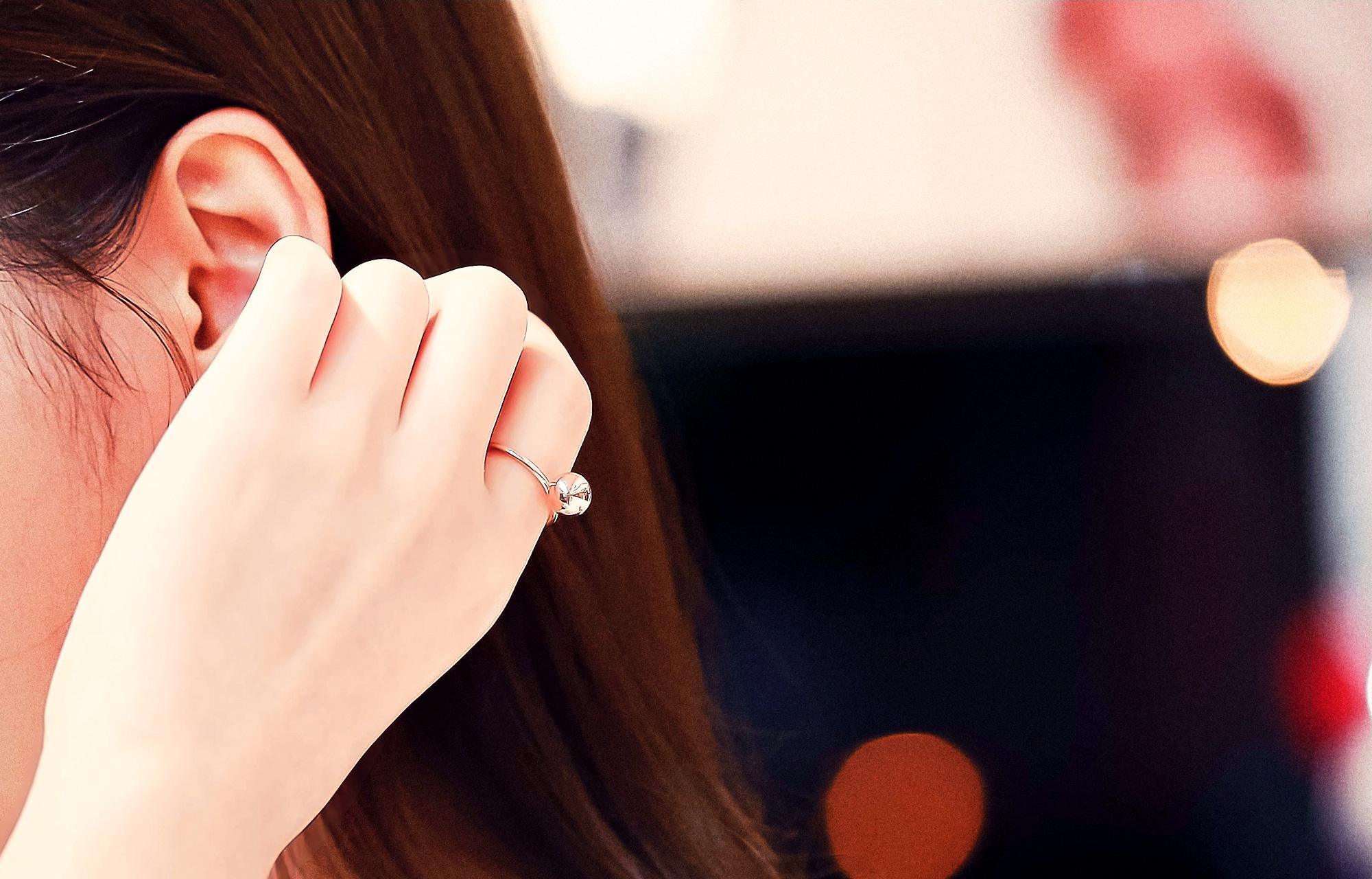 ★Silver★뉴얼리은반지] / 19,000