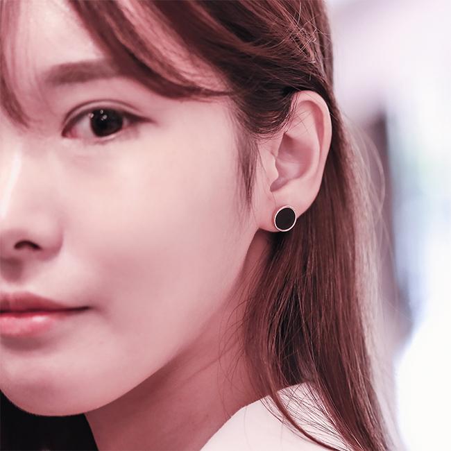 ★Silver★블랙문은귀걸이