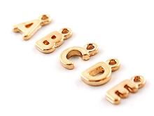 골드미니알파벳금속장식