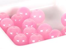 핑크투명합성원석구슬