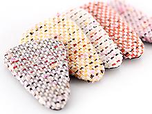 9cm파스텔니트삼각똑딱핀커버