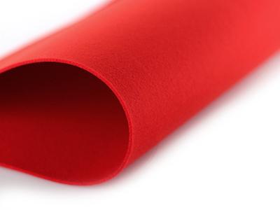 빨강2mm소프트펠트원단