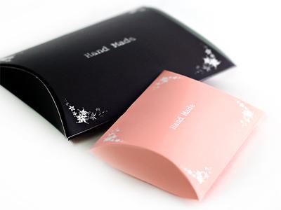 핸드메이드반달포장박스