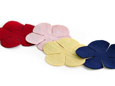 4cm빈티지새틴꽃잎