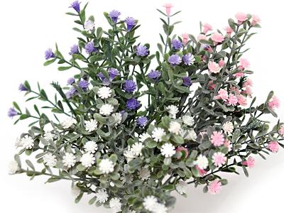 러블리안개꽃조화