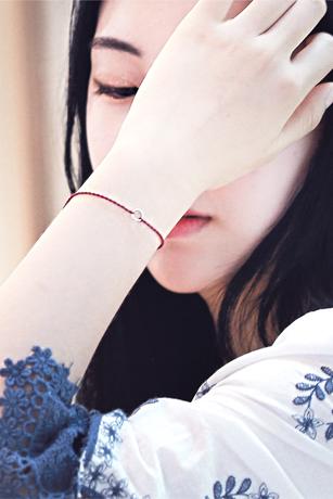 ★Silver★미니원형심플은팔찌