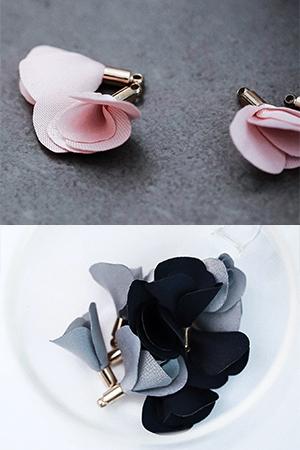 꽃태슬장식