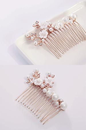 화원꽃진주빗핀