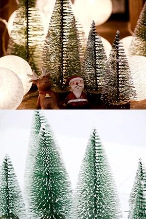 눈내린노르웨이숲나무