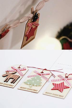 크리스마스나무태그오너먼트