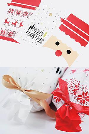 크리스마스선물포장팩