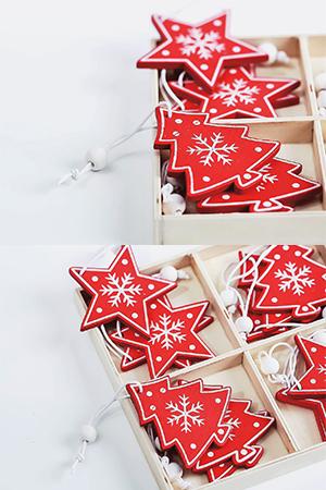 크리스마스우드오너먼트