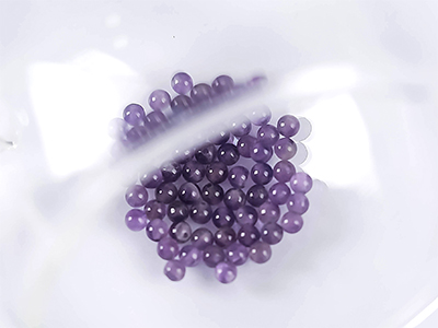 투명자수정천연원형구슬