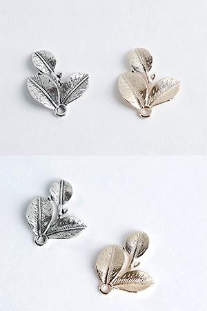 25mm세잎금속장식
