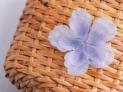 하늘거리는다섯잎투명꽃잎5장