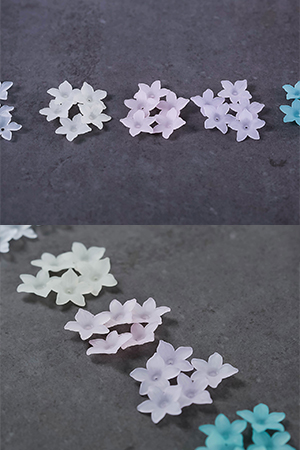 20mm나리꽃장식5개
