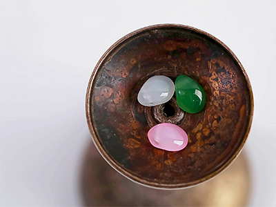 8mm유리물방울구멍장식