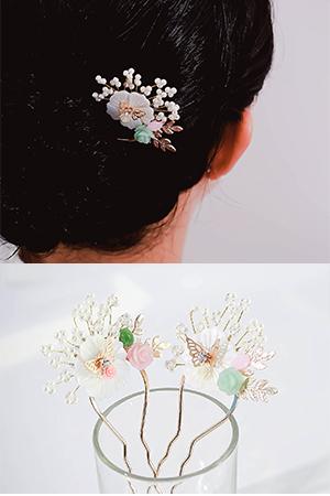 꽃과나비비녀