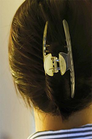 투명라운드집게핀